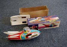 1960s Era Tin Friction Torpedo Boat w/Original Box! - China