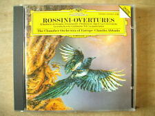 ROSSINI OVERTURES - ABBADO & CHAMBER ORCHESTRA EUROPE - DG CD 1991