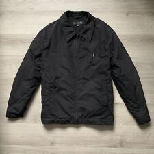 Vintage Yves Saint Laurent YSL Black Harrington Jacket XL