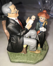 "Vintage Norman Rockwell Collector's Club - 1980 ""Doctor and the Doll"" Figurine"