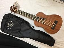 EDDY FINN EF-EBASS short scale acoustic electric BASS GUITAR new w/ GIG BAG