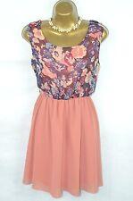 BNWOT Madame RAGE @ new look cute floral tunic tea dress UK 12
