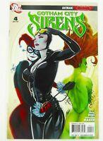 DC GOTHAM CITY SIRENS #4 Key HARLEY QUINN Catwoman POISON IVY VF+ Ships FREE!