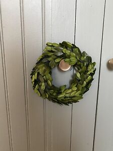 """6"""" Round Preserved Boxwood Wreath creative co-op"""