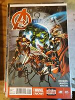 Avengers #25 VF (2013 Series) Marvel Comic Jonathan Hickman