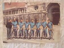 RARA CARTOLINA CICLISMO 1956 SQUADRA ARBOS BIF FORNARA PEZZI GIUDICI BERTOGLIO..