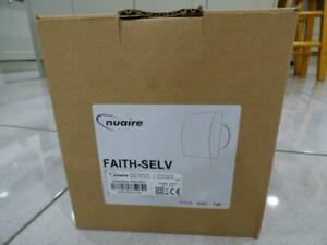 Brand New Nuaire Faith -SELV LV extractor fan with himidistat time & Data logger