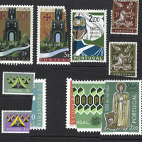Portugal Stamps 1962 issues (complete) MNH OG