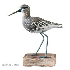 Wood Carving Archipelago SANDPIPER STANDING STRAIGHT D205 WADER bird watching
