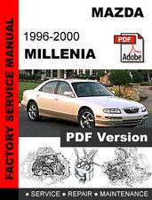automotive pdf manual ebay stores rh ebay com Mazda Millenia Engine 1999 Mazda Millenia