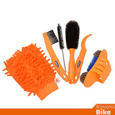 Bike Accessories - CYLION 6 pcs/lot Bicycle Chain Cleaner Cycling Clean Brushes