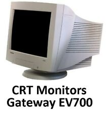 "CRT Video 17"" Monitor - Gateway EV700 - Good Working Condition"