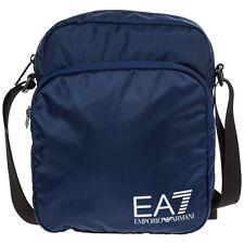 EMPORIO ARMANI EA7 MEN'S CROSS-BODY MESSENGER SHOULDER BAG NEW BLU A72