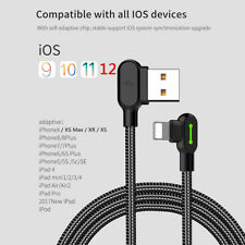 MCDODO 90 Degree Right Angle USB Charger Cable For Apple iPhone iPod iPad