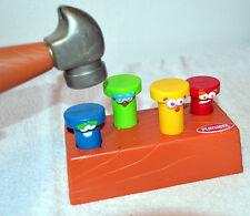 Playskool Pounding Nail Workbench Activity Set Hammer & Nails Learning