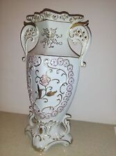Holylandoldies-Antique VASE  ,1900s Eisenberg Germany Kalk Porcelain Factory