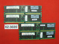 8gb HP 373030-851 Hynix hymd 525g726cfp4-d43 AB-T pc3200r 4x2gb DDR #kz-3020 ecc