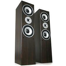 350 W MAX TOWER SPEAKERS HI-FI HOME CINEMA THEATER FLOORSTANDING 3-WAY NEW PAIR