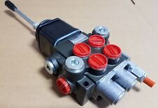 2 SPOOL HYDRAULIC DIRECTIONAL CONTROL VALVE WITH JOYSTICK & FLOAT POSITION