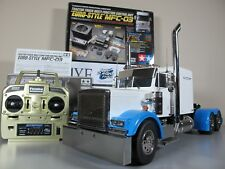 Tamiya 1/14 RC Grand Hauler Semi Truck + Futaba 2.4GHz + MFC-03 LED & Sound RTR