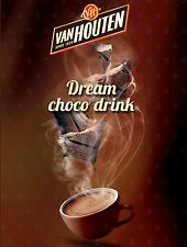 More details for van houten hot chocolate incup 73mm for in cup vending machine darenth klix etc*