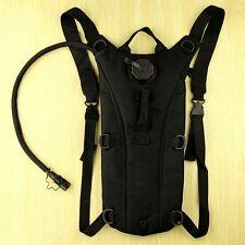 Survival Hiking Hydration System Bike Water Backpack Pouch Reservoir Bag Black