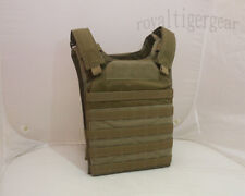 FLYYE Fast Attack Plate Carrier (FAPC) MOLLE Tactical Vest - Coyote Brown size M