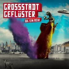 GROSSSTADTGEFLÜSTER - OH,EIN REH!  CD  14 TRACKS DEUTSCH-POP  NEU