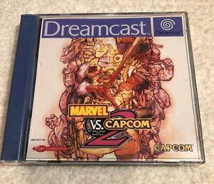 Marvel vs Capcom 2 Sega Dreamcast complete