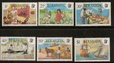 BERMUDA SG430/5 1981 HERITAGE WEEK  MNH