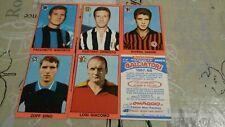 FIGURINE CALCIATORI MIRA 1967/68 67/68 CON SCUDETTI E TRIANGOLINI!NUOVI ARRIVI!!