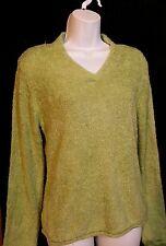 Women's Fuzzy Croft & Barrow Sweater Size M