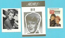Eve Arden Fab Card Collection Our Miss Brooks Grease American Actress