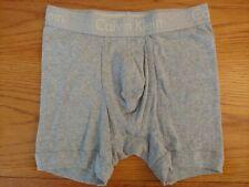 New Calvin Klein Body Boxer Brief U1805 100% Cotton Small gray