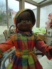 POUPEE CREOLE  MARTINIQUAISE MADE IN FRANCE DE 45 CMS