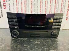 MERCEDES E CLASS W211 RADIO CD PLAYER HEAD UNIT A2118701289