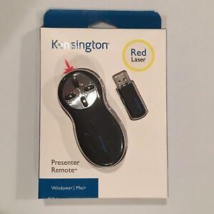 Kensington Presenter Remote Wireless Control USB Red Laser Pointer K33374USA