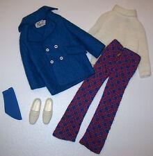 Vintage KEN & BRAD THE SEA SCENE #1449 Near Complete Mod Suit 1971 & White Shoes