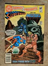 DC Comics Presents #47 1st app He-man Superman Masters of the Universe 1982