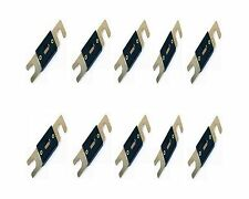 GOLD PLATED BIG ANL 80A AMP CAR AUDIO STEREO TRUCK WAFER FUSES x 10