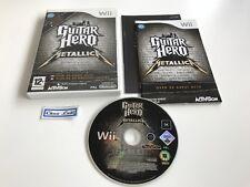 Guitar Hero Metallica - Nintendo Wii - PAL FR - Avec Notice