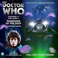 DOCTOR WHO Big Finish Audio CD Tom Baker 4th Doctor #2.5 PHANTOMS OF THE DEEP