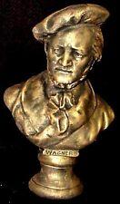 "Wilhelm Richard Wagner Bust Music Sculpture Statue 12"" AOH Studio"