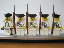 Lego PIRATES NAPOLEONIC WARS AUSTRIAN Musketeer Infantry Soldiers MINIFIGS