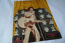 Elvis Original_1971_Internation al Hilton_Souvenir Menu_Las Vegas_Ex