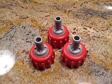 Coke Bib Connectors-Lot of 3