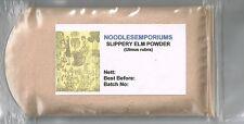 Slippery Elm Powder Wildcrafted (Ulmus rubra) Indian Elm - 50g, No GMO's