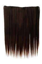 Postiche Large Extensions Cheveux 5 Clips Lisse Mélange Marron 45cm L30173-2t30