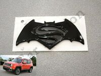 STEMMA LOGO JEEP RENEGADE BATMAN VS SUPERMAN POSTERIORE ORIGINALE REAR EMBLEM