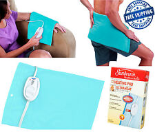 Sunbeam Heating Pad King Size Electric Blanket Large Back Therapy Pain Relief